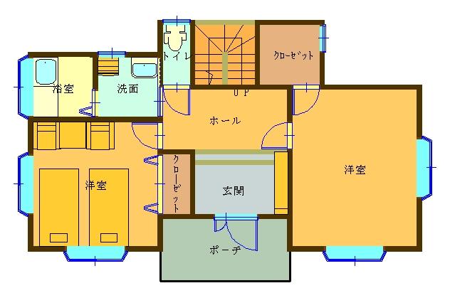 別荘セカンドハウスの間取り設計図 | 北島建築設計 …